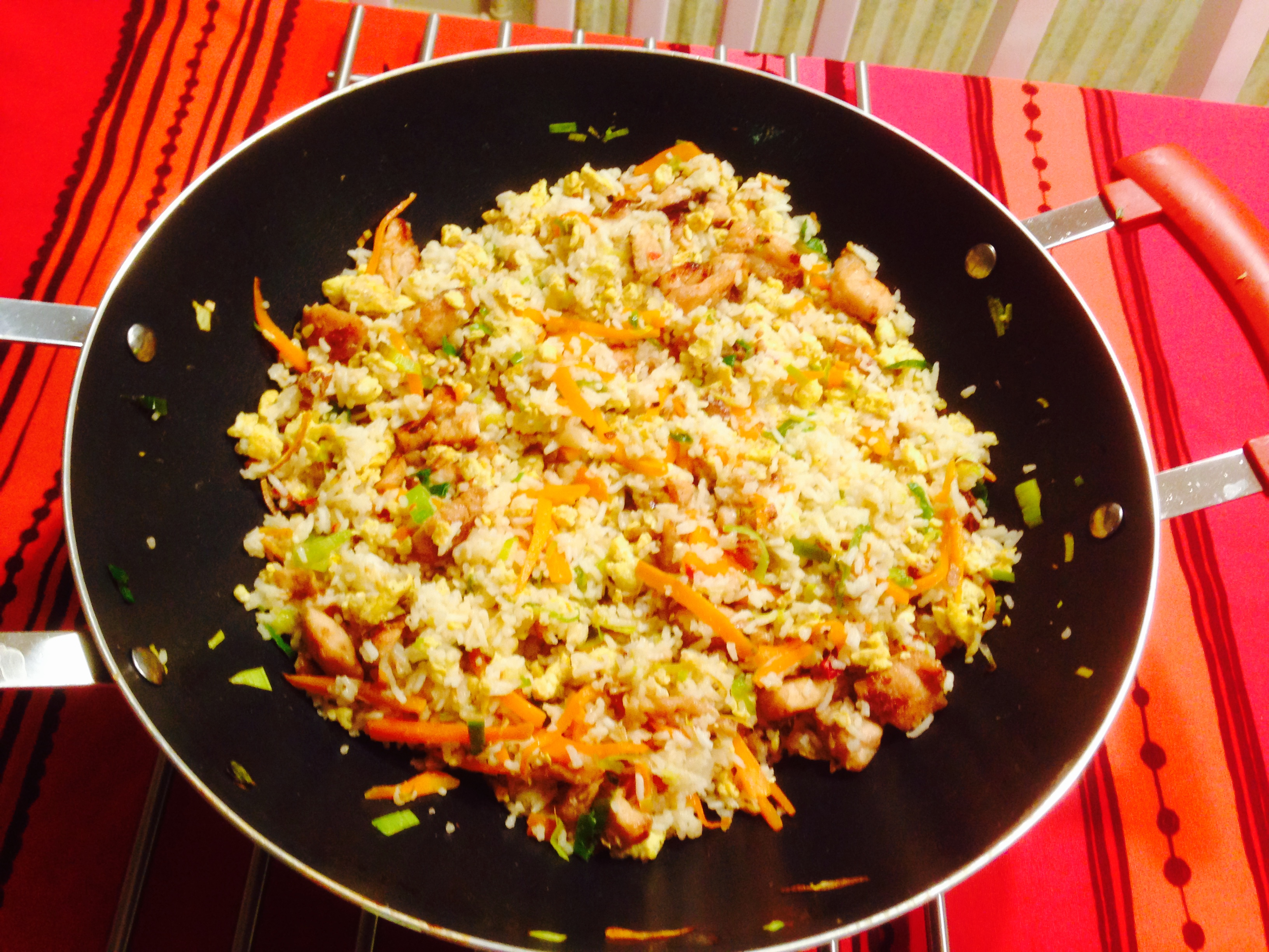 Sri Lankan style Chinese fried rice recipe